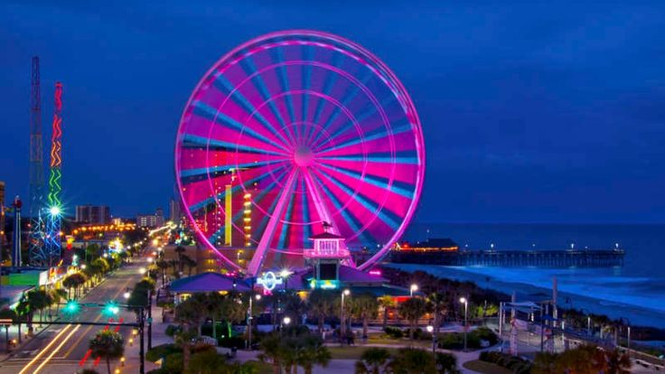 The Best Small Towns for Christmas in the South: Myrtle Beach, South Carolina