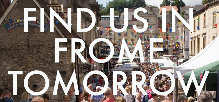 Seriously excited about heading to The Frome Independent Market again tomorrow - Sunday 4th June. It's always a jam-packed day of inspiration, entertainment and new discoveries, not to mention huge crowds.   Find us at Tania Covo's No. 58 Catherine Street Gallery and don't forget to say hello!