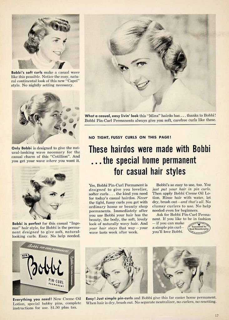 try on a haircut 17 best ideas about permanent curls on perms 1953