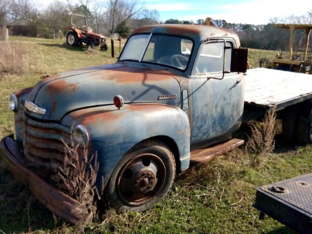 1948 Chevrolet 1 1 2 Ton Flatbed Truck For Sale Photos