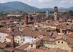 Lucca, panorama