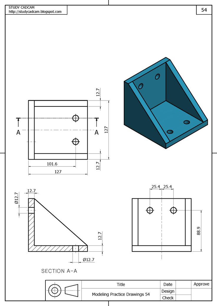 how to draw blueprints in autocad