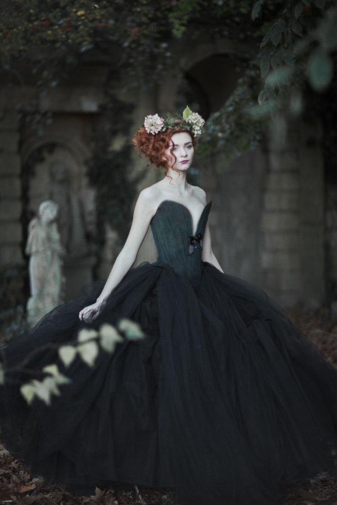 Abigail's Garden by EmilySoto.deviantart.com on @DeviantArt   black queen   Pinterest   Fairy tales, Fantasy and Photography