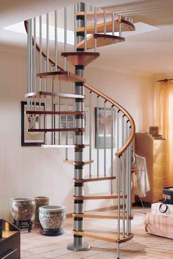 19 besten Wendeltreppe Bilder auf Pinterest Treppen - holz treppe design atmos studio