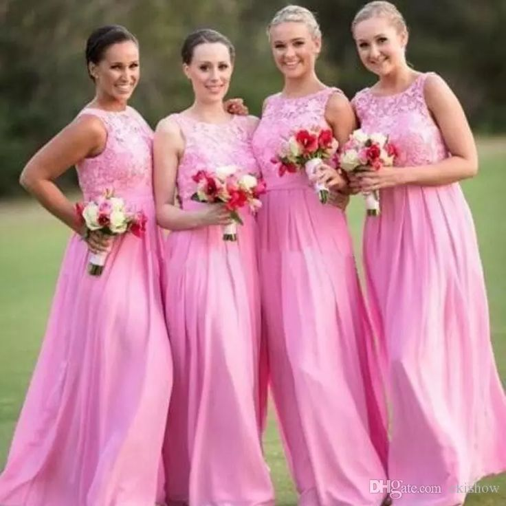 Lace country bridesmaid dresses
