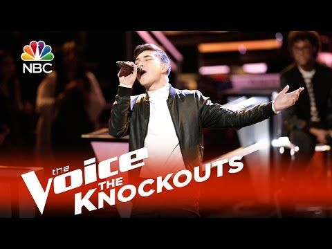 "The Voice 2015 Knockouts - Lowell Oakley: ""My Girl"" - YouTube"