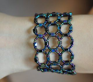 Seed+bead+bracelets+patterns