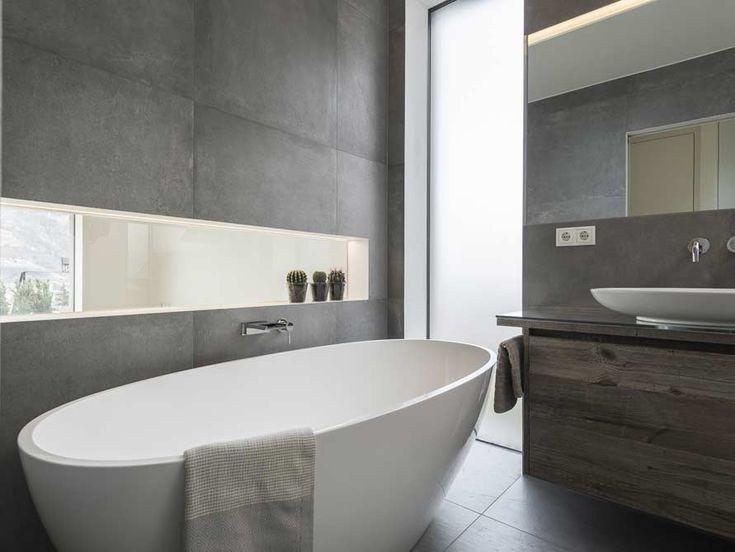 Die besten 25+ Freistehende badewanne Ideen auf Pinterest Haupt - badezimmer steinwand