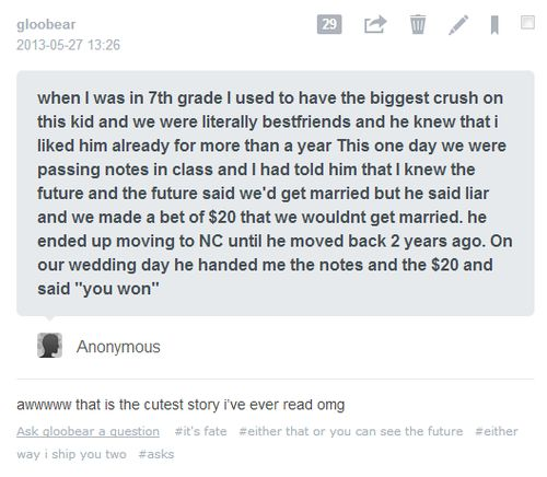 This is the sweetest story I have ever read (subject to change, of course, but for the time being). Awwwwwwwwwwww.......!!!! *smile* <3