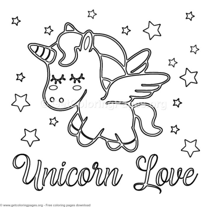 62 Cute Cartoon Unicorn Coloring Pages Unicorn Coloring Pages
