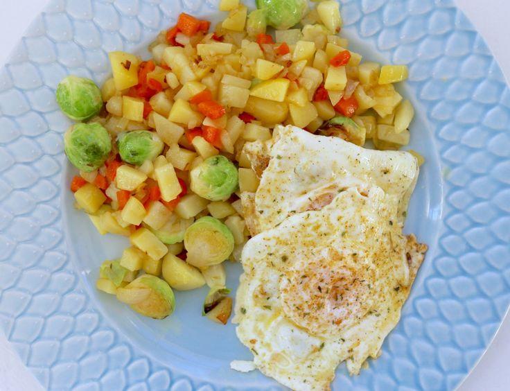 Vegetarisk pyttipanna | Jennys Matblogg | Bloglovin'