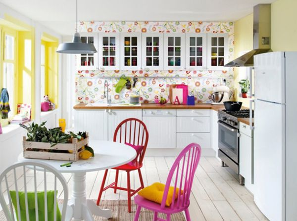15 Original Kitchen With Pop Colors