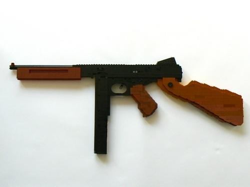 Lego Gun - Artist Unknown