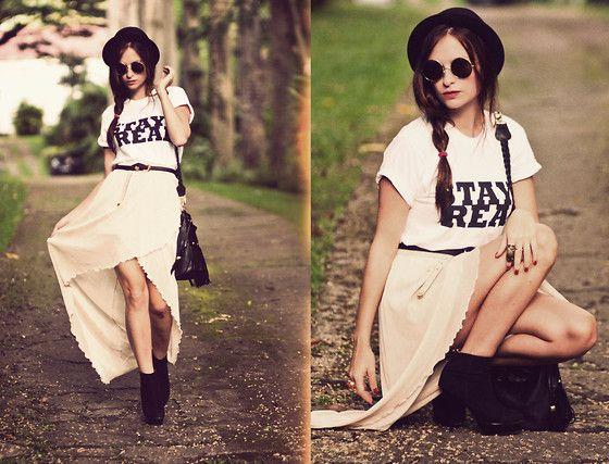 Brashy Couture Tee, Love Skirt
