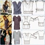 Patrones gratis de blusas, tops y camisetas.  Página nº1