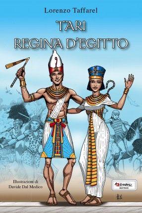 """33. Tari regina d'Egitto (L. Taffarel 2014). L'Egitto è diviso tra gli invasori Hyxsos e il legittimo faraone che ha costruito una città nella zona a sud. Ma sull'Egitto soffiano venti di riconquista e il faraone, insieme ad un gruppo di fedelissimi, sta riorganizzando l'esercito per scacciare gli Hyxsos... Questo è l'ultimo romanzo della trilogia iniziata con """"All'ombra della Sfinge"""" e """"Il segreto del Nilo""""."""