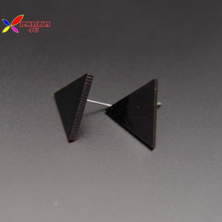 2015 горячих серьги мода уникальный конструктор ясно черный геометрическая серьгу для женщин бижутерии brincos geometricos купить на AliExpress