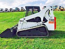 Watch the videoBOBCAT T300 SKID STEER TRACK LOADER RUBBER KUBOTA BOB CAT DIESEL skid steer loaders - construction equipment - equipment financing - heavy machinery