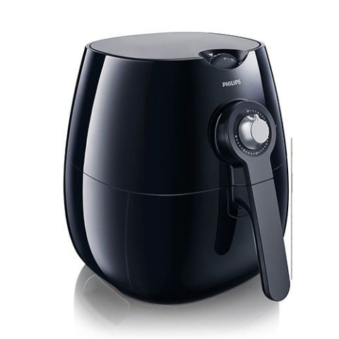 $194 BUY NOW  For the Healthy Home Cook  Rated as the number-one new release in deep fryers on Amazon, this Philips Airfryer is revolutionizing the fried-food scene by making the process quicker and healthier for home cooks. By using air rather than oil, this kitchen appliance will cut back on fat by 75%, so you can grill, steam, and fry everything from Brussels sprouts to french fries without a guilty conscience.