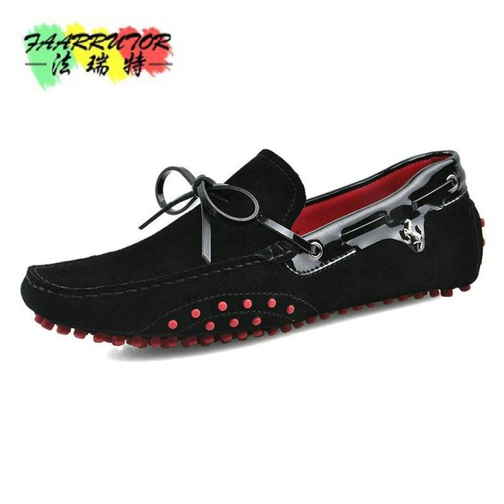 2018 fashionable men's driving shoes,  Casual High Quality Men's Suede Leather,  Handmade Moccasins