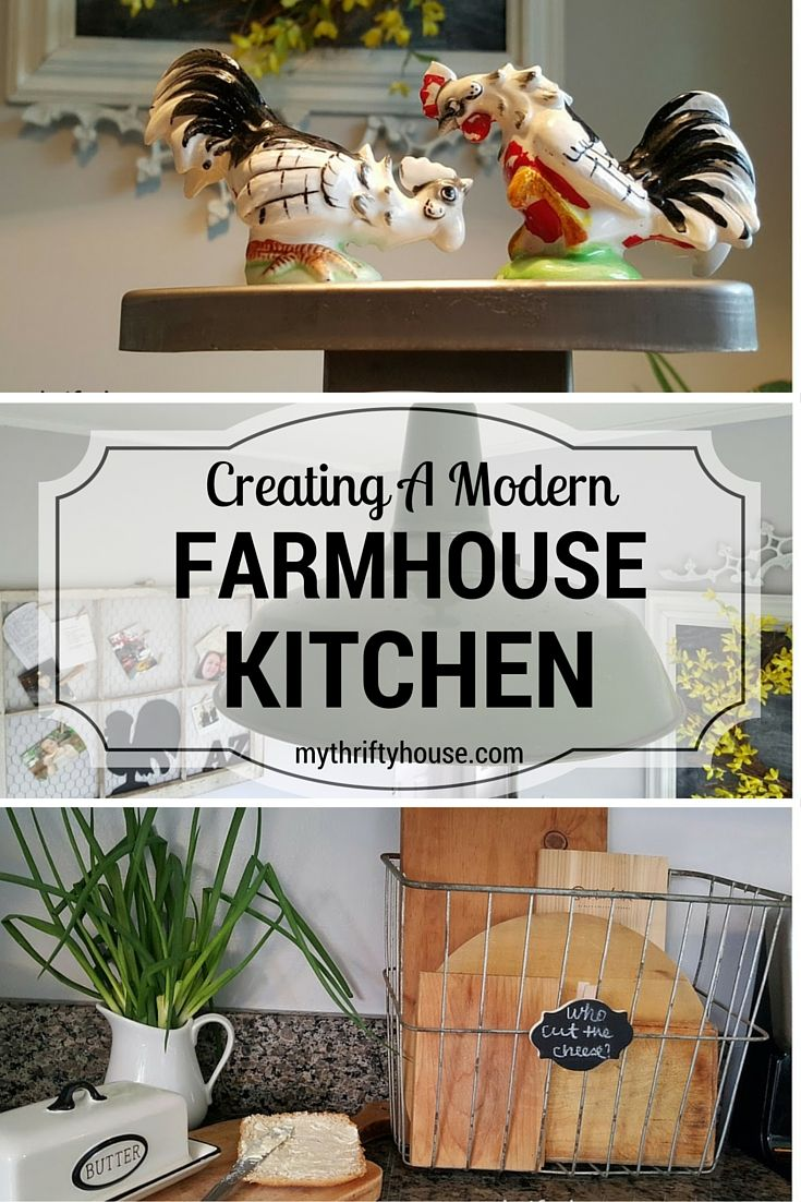 What I personally love about the Farmhouse look is that there are so many textures and layers that can be inexpensively added {or removed when your are tired of the Farmhouse vibe} and a little Farmhouse goes a long way.