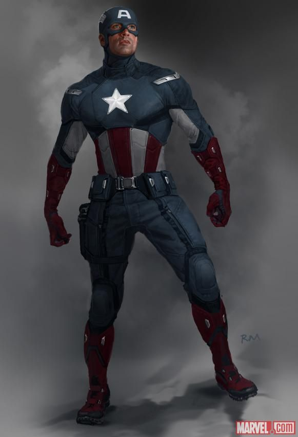 Captain America concept art by Ryan Meinerding from Marvel's Avengers. Find  this Pin and ...
