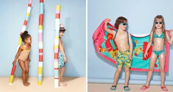 Costumi da bagno per bambini: i modelli colorati di Du Pareil au meme