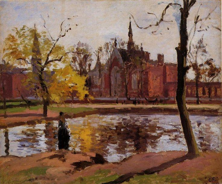 Dulwich College, London. (1871). Камиль Писсарро