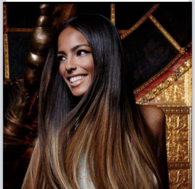 straight ombre black hair �180 hairstyles
