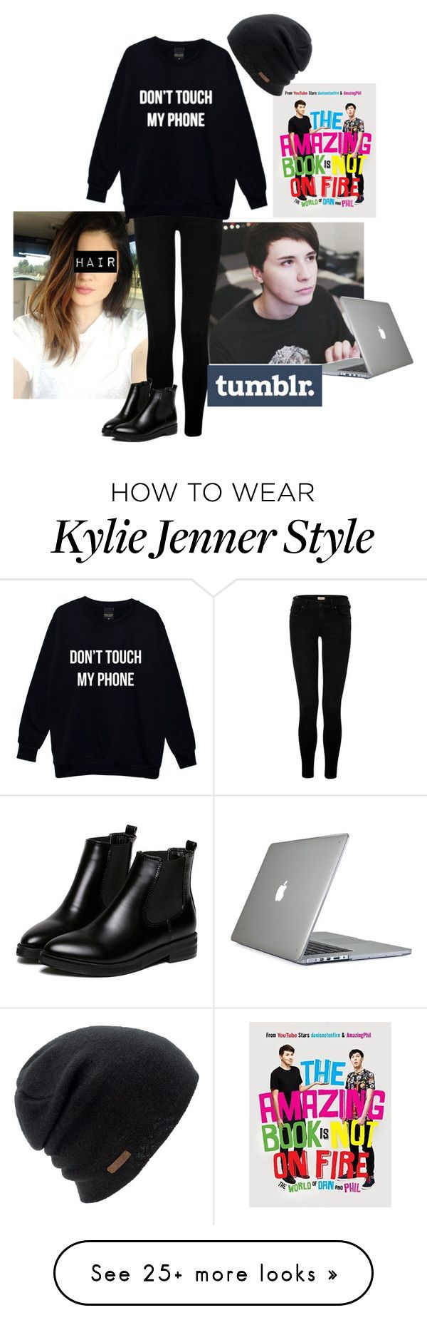 """The Dan Howell Look *^*"" by kawaii-pancake on Polyvore featuring True Religion, Speck and Coal"