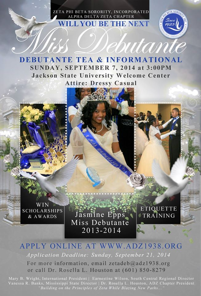 Zeta Phi Beta Sorority Incorporated Alpha Delta Zeta