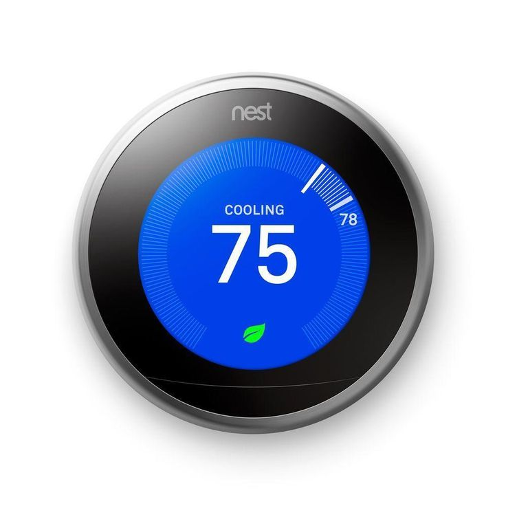 NEW NEST LEARNING WIFI THERMOSTAT 3RD GENERATION T3007ES #Nest