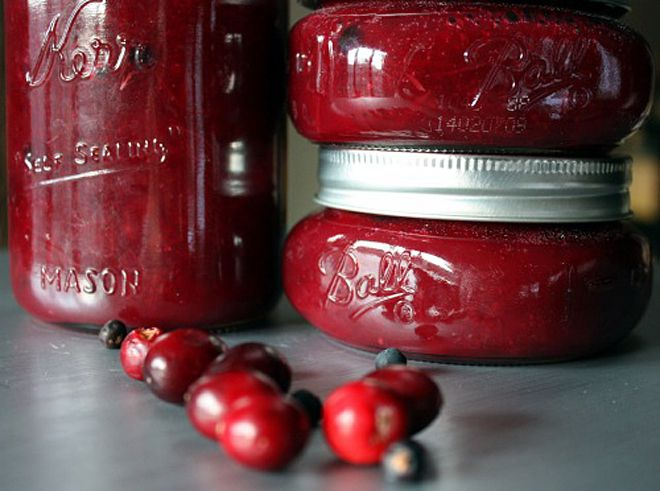 Cranberry Sauce with Rosemary & Juniper Berry