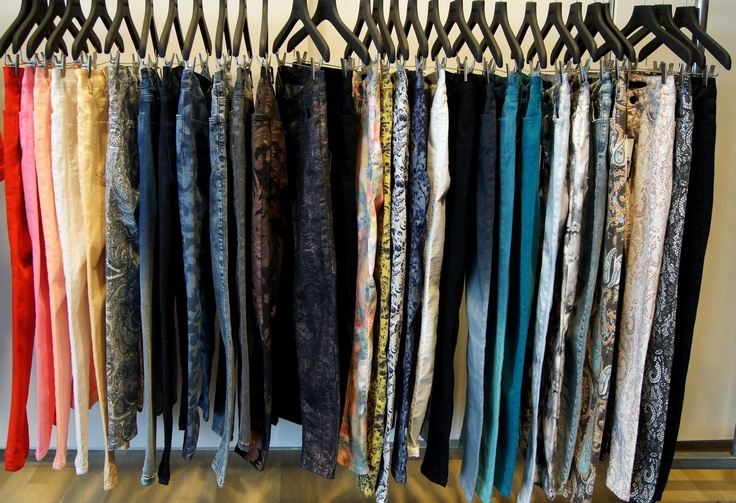 Coming up soon in store... The new jeans collection.