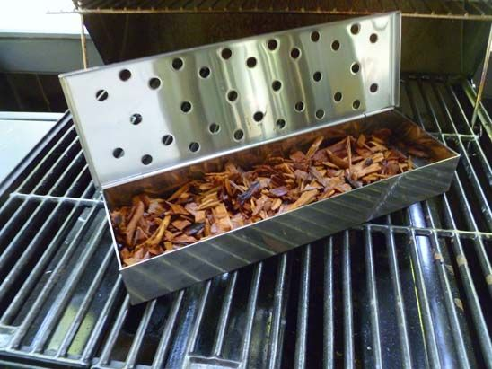 How to Use Your Propane Grill as a Smoker >> http://blog.diynetwork.com/maderemade/how-to/how-to-use-your-propane-grill-as-a-smoker/?soc=pinterest