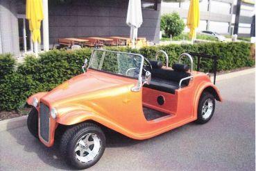 Beckers Golf Cart Handel -   - Ligier - Yamaha - WSM Mitsubishi - E-Z-GO - Club Car - WSM Mitsubishi Roadster 220 NEUFAHRZEUG Golf Cart / Golfcar