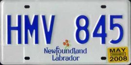 License Plates of Canada's Provinces and Territories