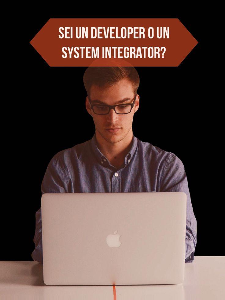 Ti capita di avere #idee e non portarle a termine? Forse non sei un System integrator https://youtu.be/djr7wbH4EDo