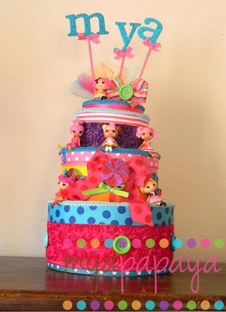 Candyland Lalaloopsy Birthday Cake Centerpiece