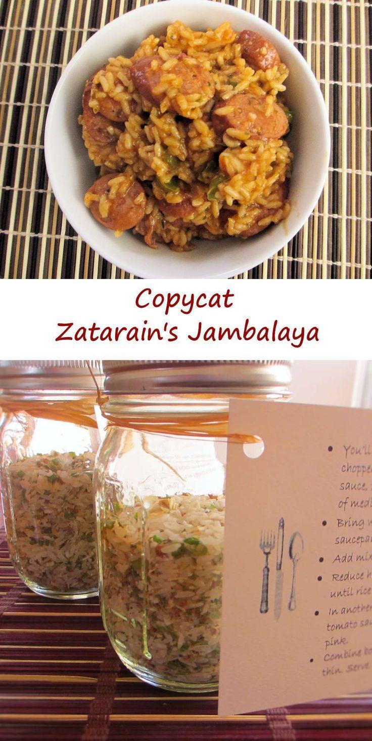 Copycat Zatarain's Jambalaya