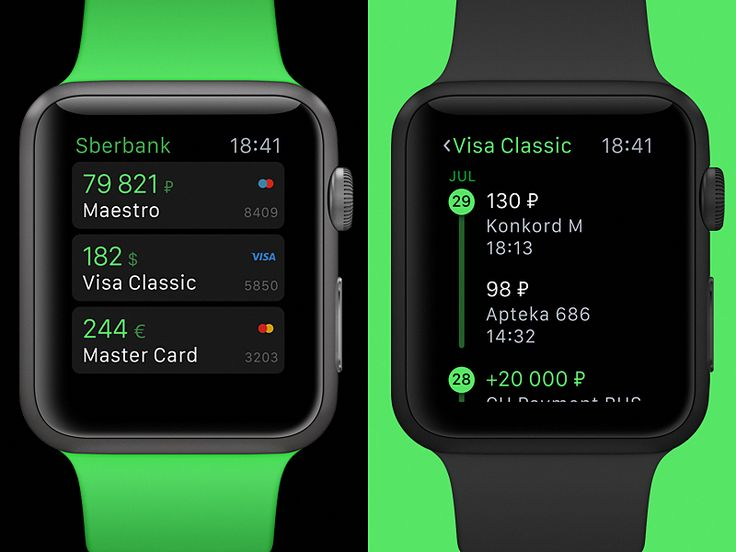 I'm proud of our new Sberbank's app for Apple Watch. We took a serious approach here to make it simple and valuable for daily usage.  Typical interaction time with watch is about five seconds, so t...