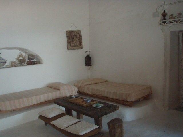 La camera con 2 letti singoli