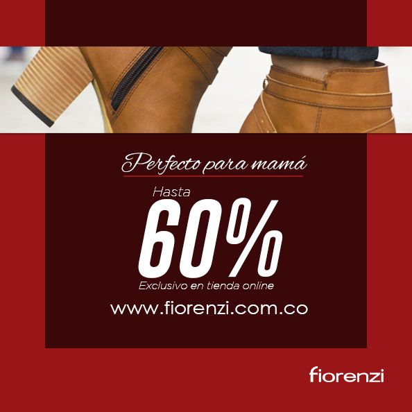 ¡El regalo perfecto para mamá!  Descuentos hasta del 60% , visita nuestra tienda online www.fiorenzi.com.co  ¡Envios gratis en todo el pais!