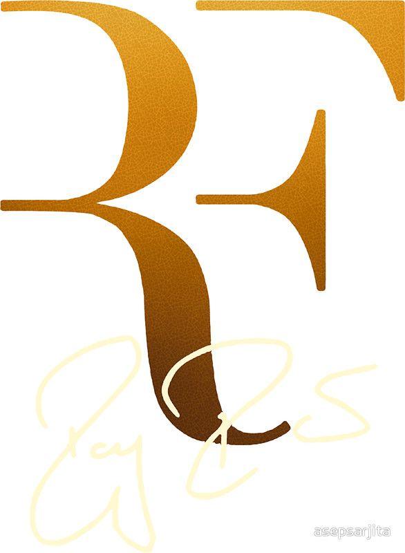 Amazing Roger Federer Logo by asepsarjita
