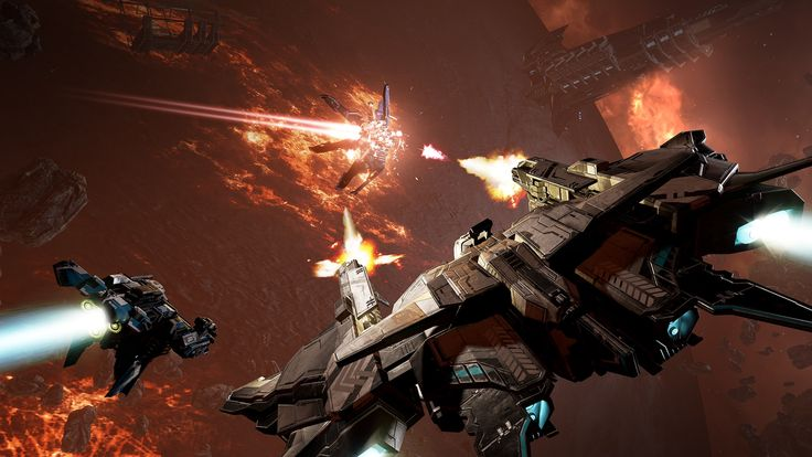 'Eve: Valkyrie' drops the VR requirement If whats been holding you back from playing Eve: Valkyrie has been the lack of a VR headset that (very valid) reason has disappeared. In addition to the new subtitle Warzone theres a new capture the flag gametype new ships ultra abilities and customizations for said ships and a pair of new maps. And of course now you can play the game on PC or PlayStation 4 sans an expensive and bulky virtual reality display hanging from your face.  All in all it…