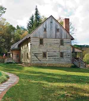 Restored 1739 Log Home In Pennsylvania Early American Life