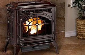 In addition to its heating capacity, a pellet stove is inexpensive to run and will provide you a lifetime of warmth with minimal fuel costs.