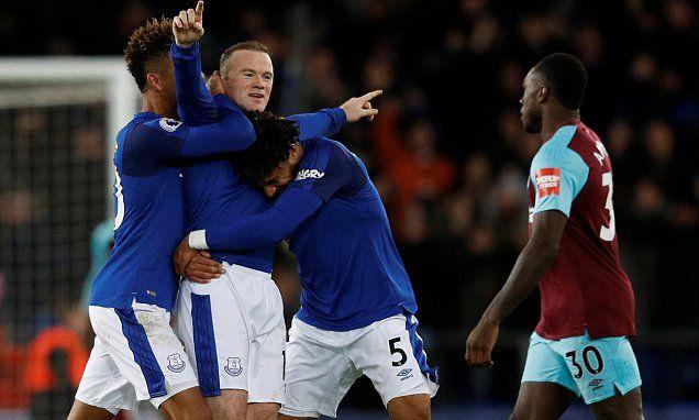 Everton 4-0 West Ham: Wayne Rooney bags amazing hat-trick