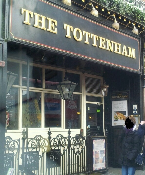 "The Tottenham on Oxford Street (""The Cuckoo's Calling"")"