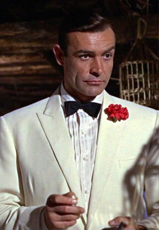 Bond, James Bond! Classic tux look.
